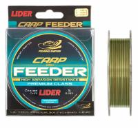 Леска LIDER CARP PLUS FEEDER CAMOU 300м.
