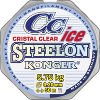 Леска KONGER STEELON CRISTAL CLEAR ICE 50м.
